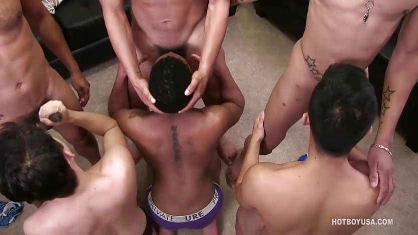 Gay black cock sucking contest